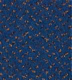 Покрытие для акустической обработки поверхности кинозала синего цвета