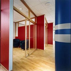 стеновые акустические панели в кинозал
